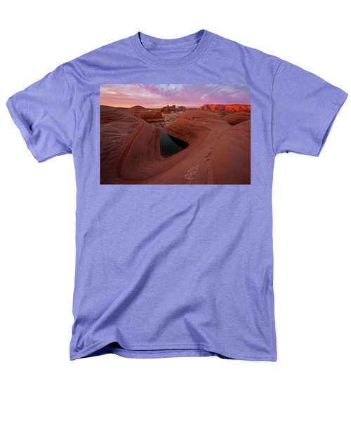 Watercolor Morning Men's T-Shirt  (Regular Fit) by Dustin LeFevre