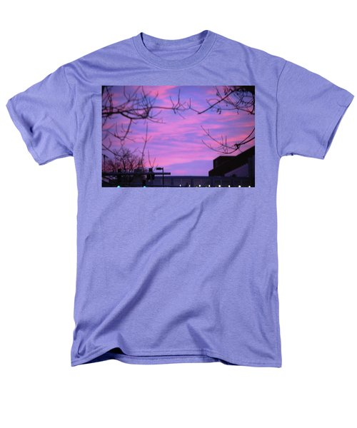 Watercolor Sky Men's T-Shirt  (Regular Fit) by Sumoflam Photography