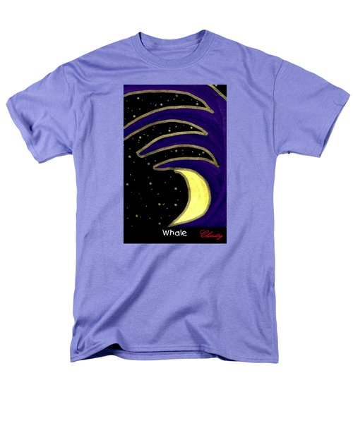 Men's T-Shirt  (Regular Fit) featuring the painting Whale by Clarity Artists