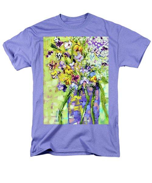 Wild Profusion Men's T-Shirt  (Regular Fit) by Lynda Cookson