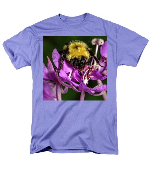 Men's T-Shirt  (Regular Fit) featuring the photograph Yummy Pollen by Darcy Michaelchuk