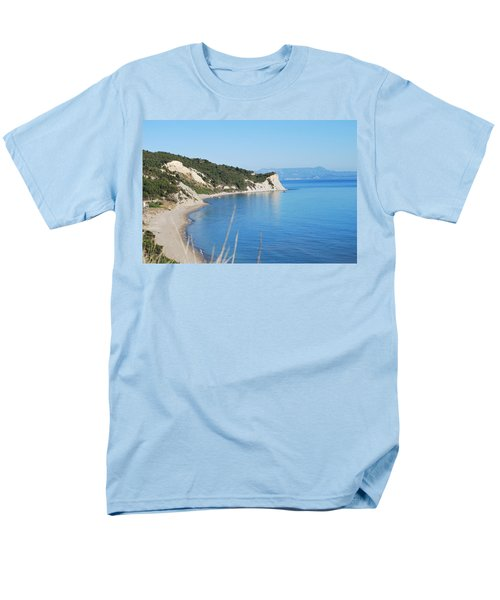 Men's T-Shirt  (Regular Fit) featuring the photograph  Beach by George Katechis