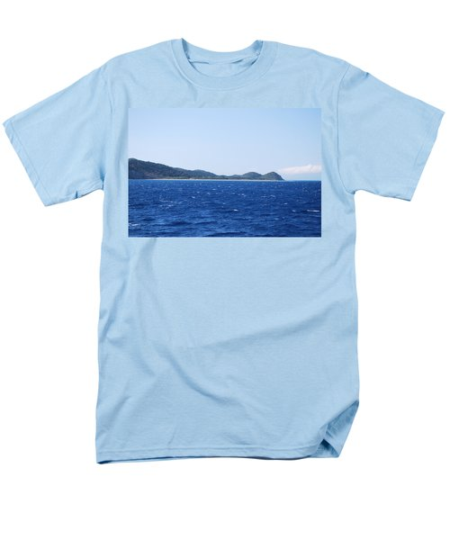 Bragini Beach Men's T-Shirt  (Regular Fit) by George Katechis