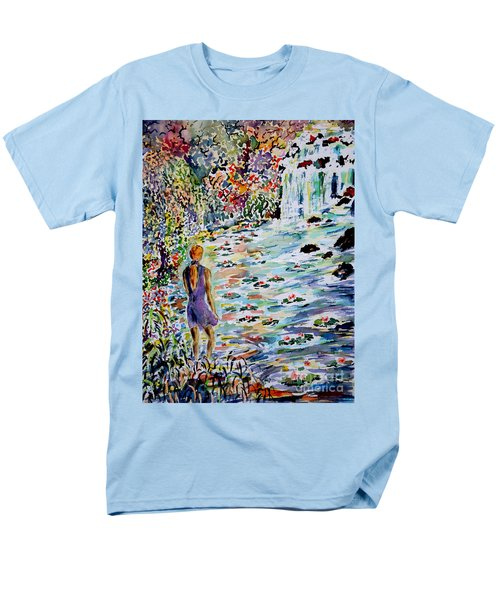 Daughter Of The River Men's T-Shirt  (Regular Fit) by Alfred Motzer