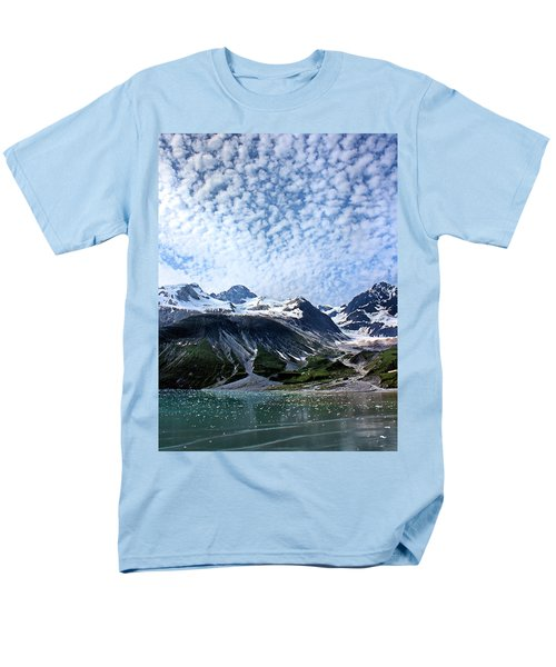 Men's T-Shirt  (Regular Fit) featuring the photograph Glacier Bay Beautiful by Kristin Elmquist