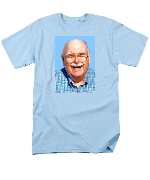 Happy Old Artist Men's T-Shirt  (Regular Fit) by Fred Jinkins