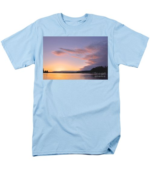Men's T-Shirt  (Regular Fit) featuring the photograph On Puget Sound - 2 by Sean Griffin