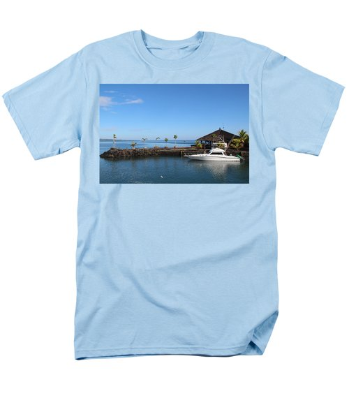 Quiet Bay Men's T-Shirt  (Regular Fit) by Sergey Lukashin
