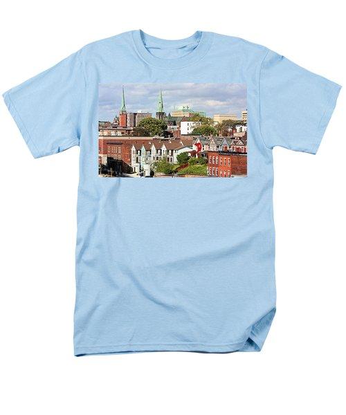 Men's T-Shirt  (Regular Fit) featuring the photograph Saint John New Brunswick by Kristin Elmquist