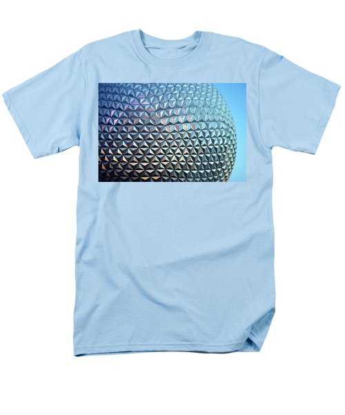 Men's T-Shirt  (Regular Fit) featuring the photograph Spaceship Earth by Cora Wandel