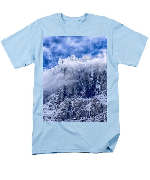 Men's T-Shirt  (Regular Fit) featuring the photograph Stone Cold by Aaron Aldrich