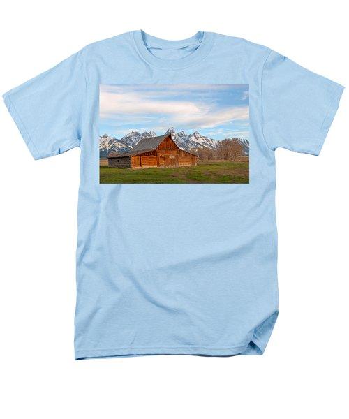 Teton Barn Men's T-Shirt  (Regular Fit) by Steve Stuller