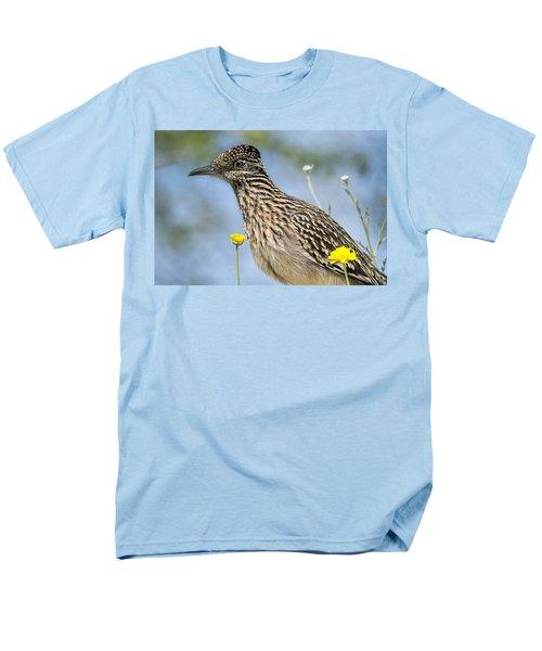The Greater Roadrunner  Men's T-Shirt  (Regular Fit) by Saija  Lehtonen