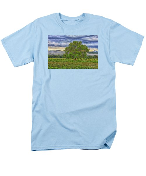 Men's T-Shirt  (Regular Fit) featuring the photograph The Tree by Geraldine DeBoer