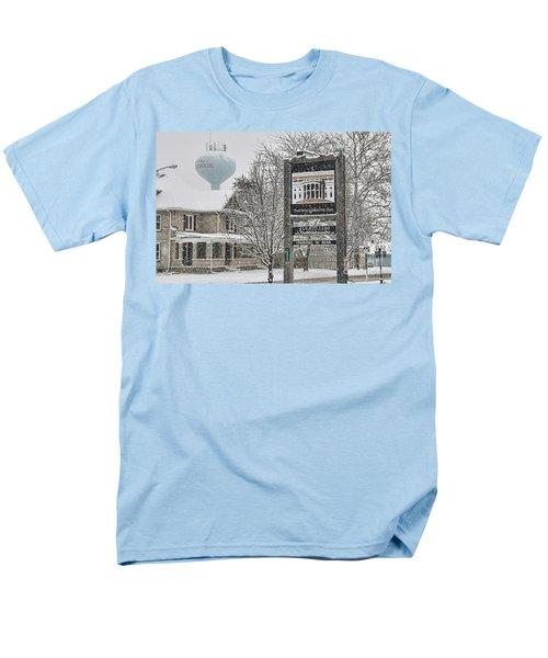 The Whitehouse Inn Sign 7034 Men's T-Shirt  (Regular Fit) by Jack Schultz