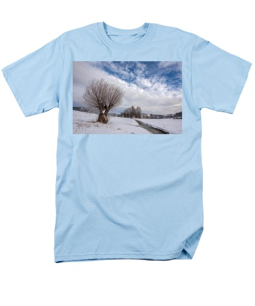 Men's T-Shirt  (Regular Fit) featuring the photograph Willow by Davorin Mance
