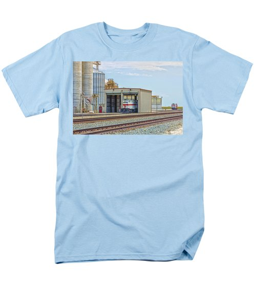 Foster Farms Locomotives Men's T-Shirt  (Regular Fit) by Jim Thompson