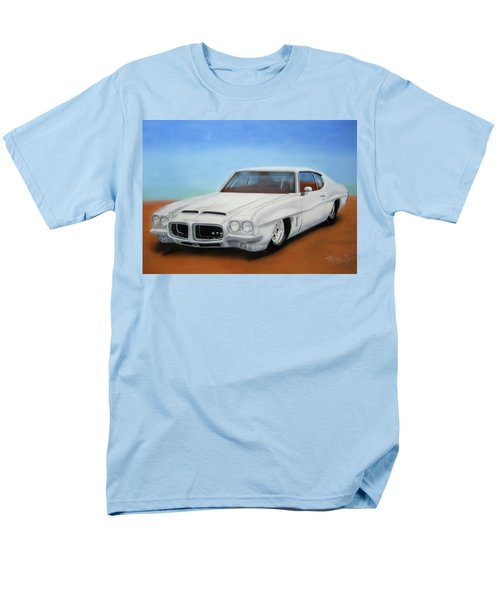 Men's T-Shirt  (Regular Fit) featuring the painting 1972 Pontiac Gto by Thomas J Herring