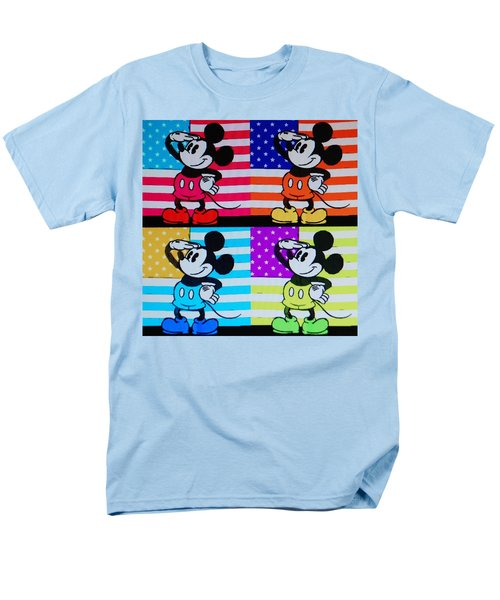 American Mickey Men's T-Shirt  (Regular Fit) by Rob Hans