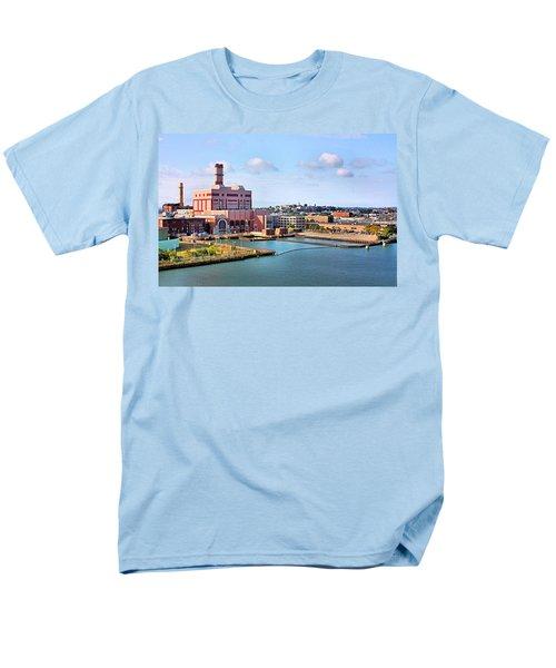 Men's T-Shirt  (Regular Fit) featuring the photograph Boston Harbor by Kristin Elmquist