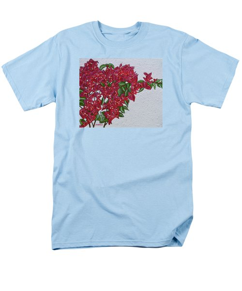 Bougainvillea Men's T-Shirt  (Regular Fit) by Donna  Manaraze