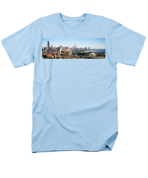 Chicago, Illinois, Usa Men's T-Shirt  (Regular Fit) by Panoramic Images