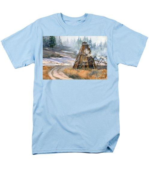 Cookin' It Men's T-Shirt  (Regular Fit) by Lynne Wright