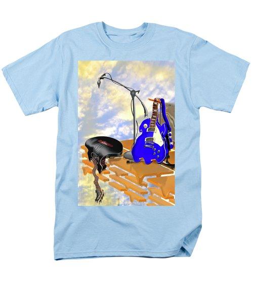 Electrical Meltdown II Men's T-Shirt  (Regular Fit) by Mike McGlothlen