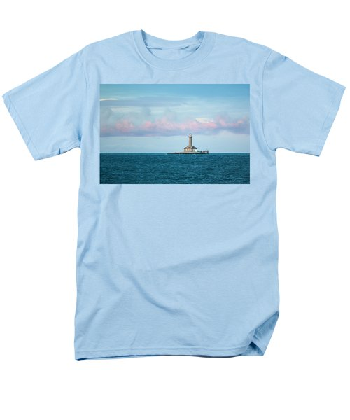 Men's T-Shirt  (Regular Fit) featuring the photograph Lighthouse by Davorin Mance