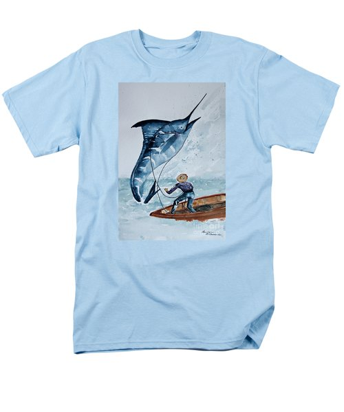 Old Man And The Sea Men's T-Shirt  (Regular Fit) by Barbara McMahon