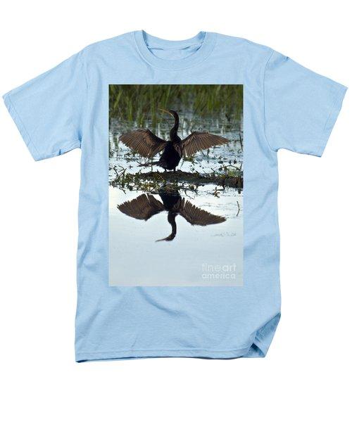 Anhinga Men's T-Shirt  (Regular Fit) by Mark Newman