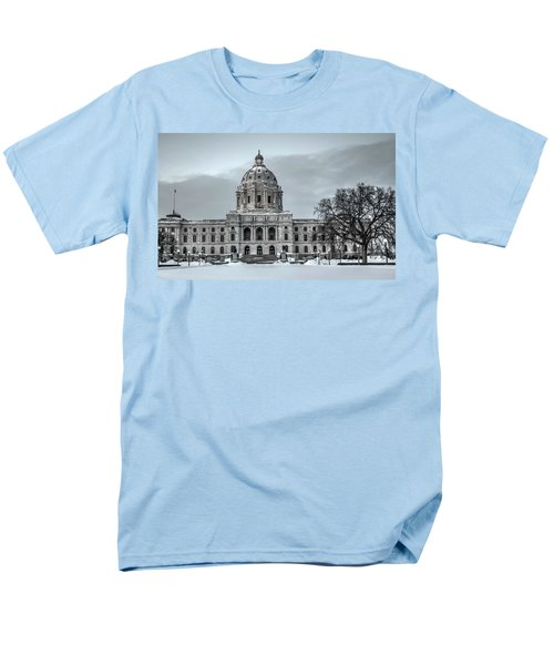Minnesota State Capitol St Paul Men's T-Shirt  (Regular Fit) by Amanda Stadther