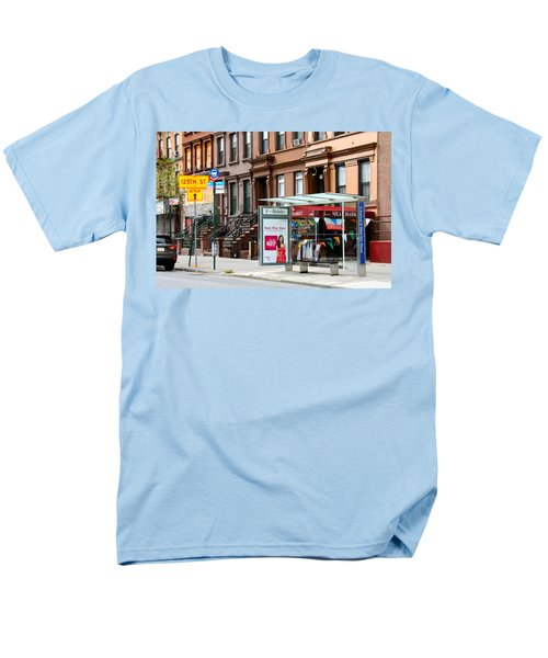 5th Ave And West 132nd Street Men's T-Shirt  (Regular Fit) by Terry Wallace