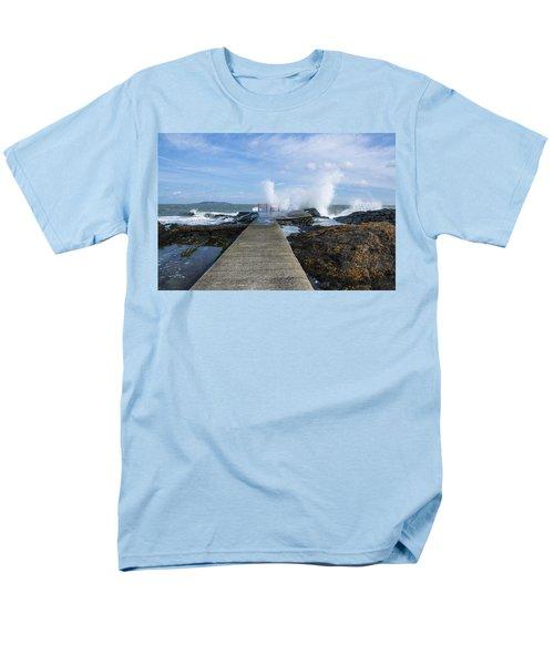 A Blustery Day At High Rock Men's T-Shirt  (Regular Fit) by Martina Fagan
