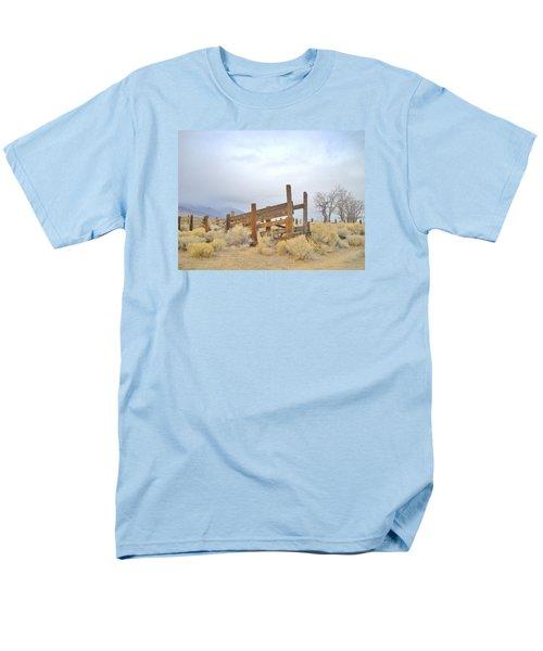 A Cowboys Echo Men's T-Shirt  (Regular Fit) by Marilyn Diaz