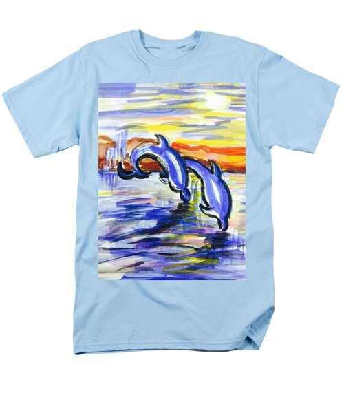 A Day At The Beach 4 Men's T-Shirt  (Regular Fit) by Hae Kim