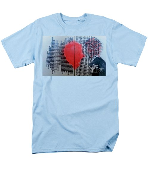 A Glance Of The Wind Men's T-Shirt  (Regular Fit) by Fei A