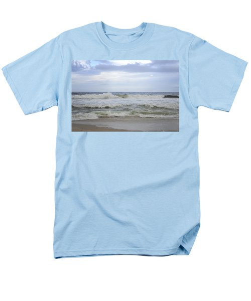 A Peek Of Blue Men's T-Shirt  (Regular Fit) by Terry DeLuco