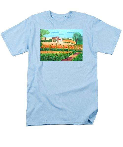 A Poppy Field Men's T-Shirt  (Regular Fit)