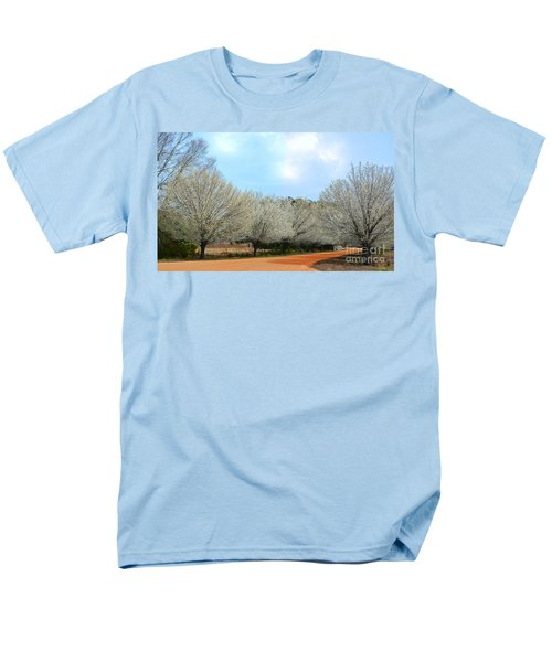 Men's T-Shirt  (Regular Fit) featuring the photograph A Touch Of Spring by Kathy Baccari
