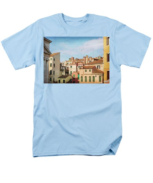 Men's T-Shirt  (Regular Fit) featuring the photograph A Venetian View by Brooke T Ryan