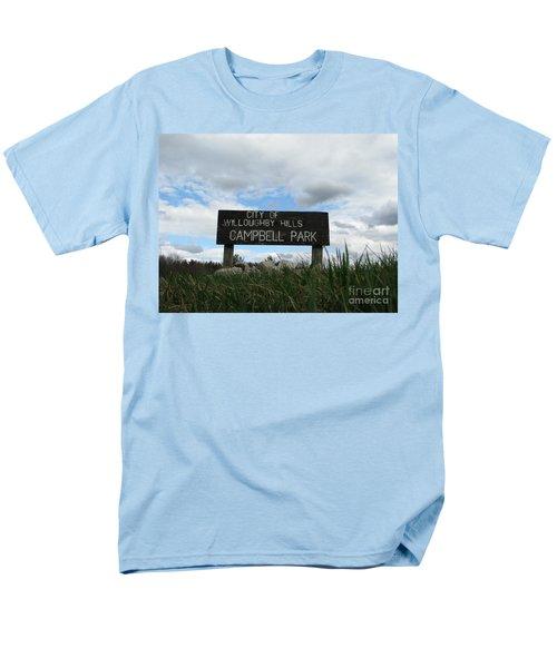 Men's T-Shirt  (Regular Fit) featuring the photograph A Walk In The Park  by Michael Krek