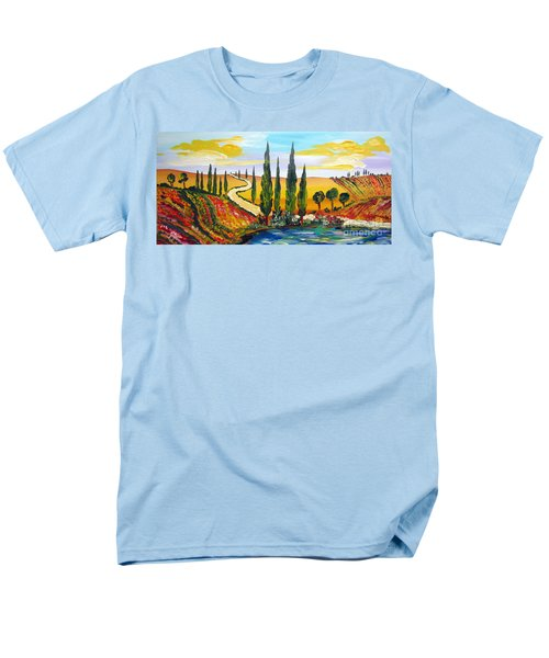 A Warm Day Under The Tuscan Sun Men's T-Shirt  (Regular Fit)