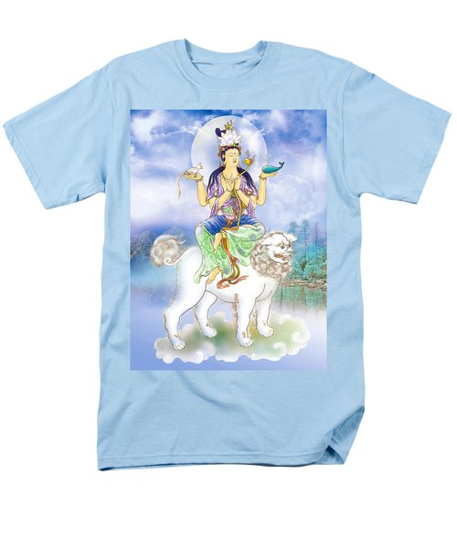Men's T-Shirt  (Regular Fit) featuring the photograph Abhetri Kuan Yin  by Lanjee Chee