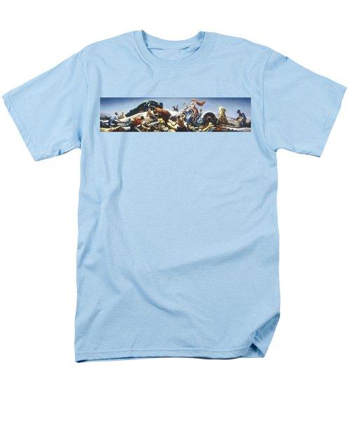 Achelous And Hercules Men's T-Shirt  (Regular Fit) by Thomas Benton
