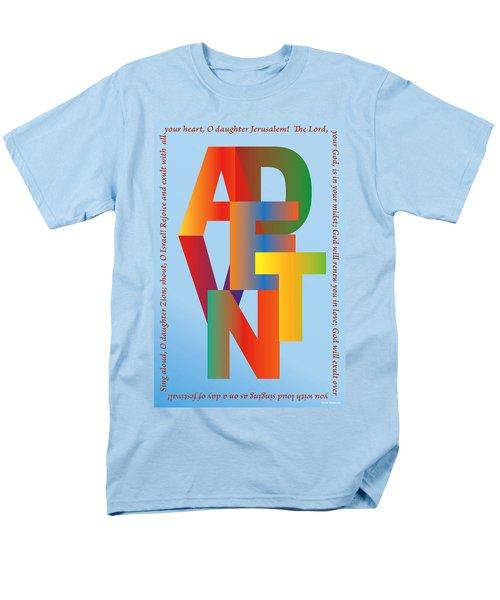 Advent Men's T-Shirt  (Regular Fit) by Chuck Mountain