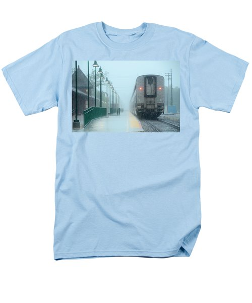 All Aboard Men's T-Shirt  (Regular Fit) by Charlotte Schafer