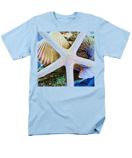 All The Colors Of The Sea Men's T-Shirt  (Regular Fit) by Colleen Kammerer