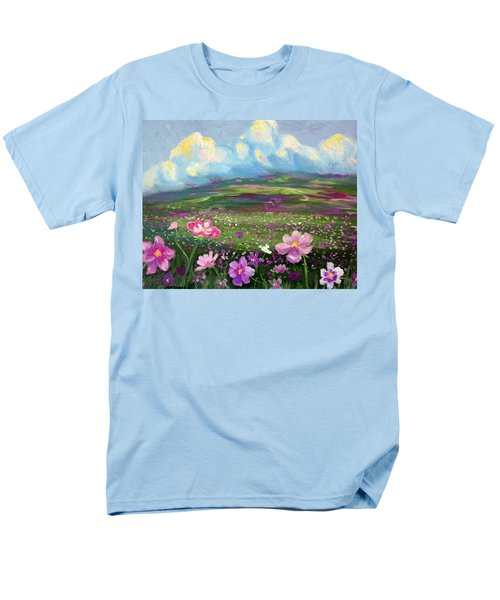 Men's T-Shirt  (Regular Fit) featuring the painting All Things by Meaghan Troup