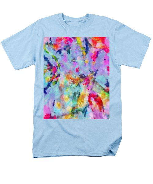 Men's T-Shirt  (Regular Fit) featuring the painting All Those Good Things by Joe Misrasi